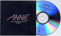 ANNIE I Know UR Girlfriend Hates Me Remixes UK 9-trk promo CD Soul Seekers