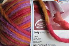 """1 Sk. SMC """"WASH+FILZ-IT""""  Big Color Felting Wool #88 Jazz"""