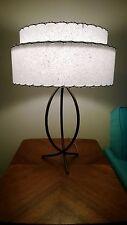 DIY Kit Mid Century Vintage Style 2 Tier Fiberglass Lamp Shade DIY Kit Retro