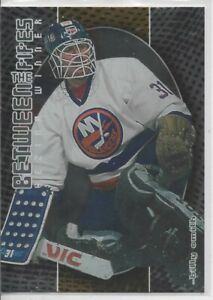 2001-02 IN THE GAME BETWEEN THE PIPES BILLY SMITH VEZINA WINNER