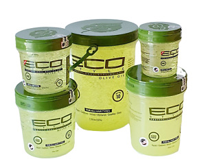 ECO Styler Olive Oil Styling Hair Gel No Tack or Flakes  various size to choose