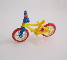 PLAYMOBIL (1521) ENFANTS - Vélo Bleu & Jaune avec Support Transparent