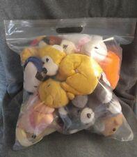 LOT OF 2 lbs STUFFED ANIMALS - assorted Grab Bag Bulk