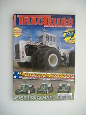 TRACTEUR PASSION et COLLECTION n°11 TRACTEUR BIG BUD 747-TRACTEUR MAN