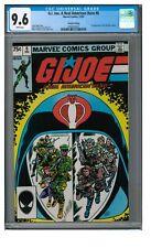 G.I. Joe, A Real American Hero #6 (1982) 2nd Print Marvel CGC 9.6 FF217