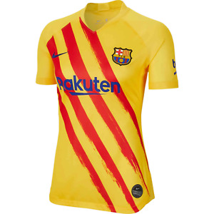 Nike Womens F.C. Barcelona Stadium Fourth El-Classico Jersey Sz L CT2529-727