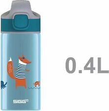 Sigg Aluminium Bottle Kid Water Bottles WMB Miracle Fox Boys Kids 0.4L 873010