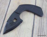 KA-BAR TDI SHARK BITE FIXED BLADE KNIFE WITH SHEATH & NECK CHAIN MADE IN USA