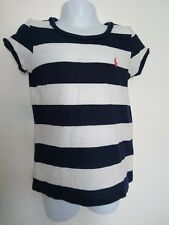 polo Ralph Lauren girls top age 4 original navy white striped
