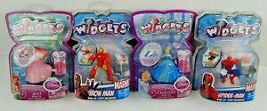 Widgets Wind Up Disney Marvel Spider-Man Iron Man Belle Ariel Cinderella Choice