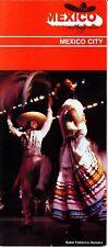 Mexico City The Amigo Country Ballet Folklorico Dancers Vintage Brochure
