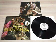 TIGER B. SMITH LP + POSTER - TIGER ROCK / GERMAN VERTIGO SWIRL PRESS in VG+