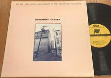 Environment For Sextet 1979 Free Jazz LP Ictus 0017 Italy