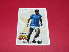 FOOTBALL CARD PANINI 1994 MARIUS TRESOR FRANCE AJACCIO MARSEILLE OM GIRONDINS