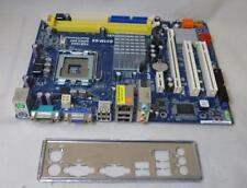 Asrock G31M-GS Socket 775 Motherboard Placa del sistema con placa de E/S