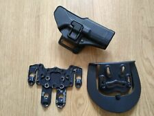 More details for blackhawk cqc glock 17 holster in black - airsoft army police