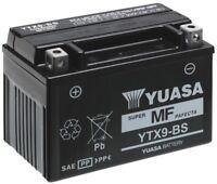 Batería Yuasa YTX9-BS Triumph Street Triple 675 R 2007 2008 2009 2010 2011 2012