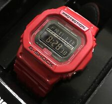 Casio G-Shock Men's Digital Watch GLS-5600L-4DR 3178 Rare Limited Edition Red