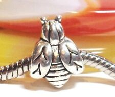 BUMBLE BEE_Slider Bead for Silver European Charm Bracelet_Wasp Honey Insect_A43