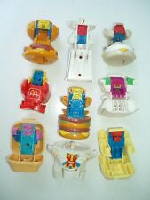 MCDONALD'S TRANSFORMERS 1987 and 1988
