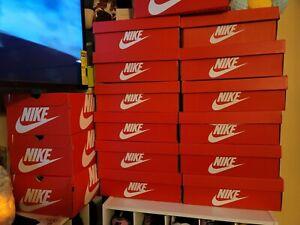 nike shoe box men's size 9.5