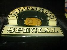 WATNEYS SPECIAL PUB CERAMIC ASHTRAY.MADE BY WADE IN ENGLAND E343 PO