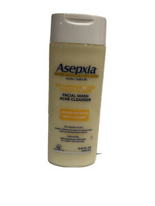 Asepxia Fast Acting Facial Wash Acne Deep Cleanser 8.45 oz. Exp 3/2021 3% Sulfur
