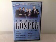 Living Legends Of Gospel Vol. 1 The Quartets DVD Region 1
