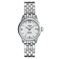 TISSOT Le Locle Automatic Silver Dial Ladies Swiss Watch T41118334 New Stainless