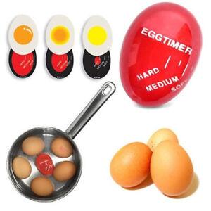 Egg Timer Resin Color Changing Egg Clock Kitchen Scaled Boiled Timer Tool