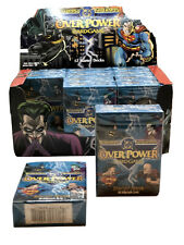 Overpower Sealed DC Batman & Superman CCG Starter Deck x2 LOT MIB