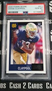 2020 Panini Score Chase Claypool PSA 10 Graded RC *Just Arrived 💎🏈💎