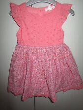 Girls Size 1 Pumpkin Patch floral skirt  dress  12-18mths   NWT