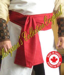 Medieval Assassin Style Long Wide Belt Sash