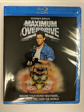 Maximum Overdrive 1986 Blu-Ray REGION FREE Stephen King Emilio Estevez Extras