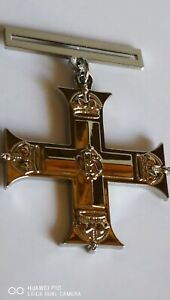 New Stunning Collectable British Military Cross medal Silver plated