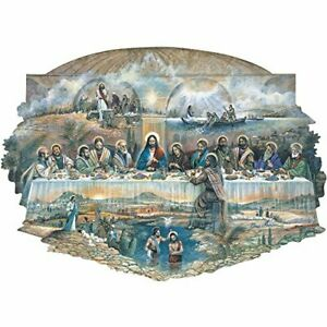 Bits and Pieces - 300 Piece Shaped Jigsaw Puzzle for Adults - The Last Supper...