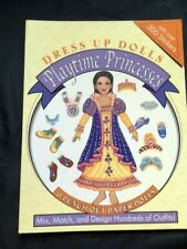 Dress Up Dolls, Playtime Princesses, 2002,  UNCUT, NEW!
