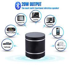 Enceinte Vibrante Bluetooth Radio FM ADIN D5+ 20W lecteur mp3 micro SD sans fil