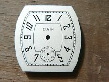 New Old Stock Vintage Elgin Dial For 1930's 6/0 Wristwatch Movements