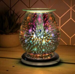 DESIRE AROMA STARRY NIGHT 3D TOUCH LAMP ELECTRIC WAX MELT OIL BURNER FRAGRANCE