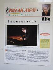 Brian Wilson Break Away Fan club June 6 1998