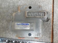 WEBSTER HYDRAULIC VALVE 81172-4