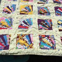 Fandango Tango Quilt Pattern Pieced SM