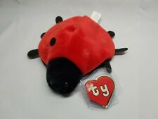 Authentic Ty Beanie Baby Lucky - 7 Felt Dots Rare 2nd/1st Gen Tag Missing Dots