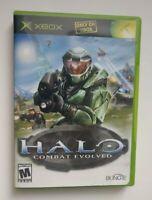 Halo: Combat Evolved 1st First Print / Black Label / No Manual - RARE