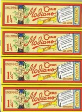 CLUB MODIANO CIGARETTE ROLLING PAPERS 1.25  SIZE SET OF 4 NEW 1 1/4 size