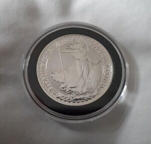 1oz Britannia 2021 Platinum Bullion Coin Investment - Capsule - UK - Premium