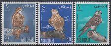 Abu Dhabi 1965 ** Mi.12/14 Vögel Birds Oisseaux