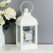 Personalised LED Light Lantern Home Candle Holder Mother's Day Gift Decoration